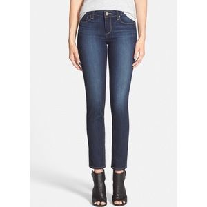Paige Skyline Ankle Peg Skinny Jeans In Reynolds